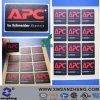 Matt PC Cmyk Weather Resistant 3m Adhesive Electrical Device Labels