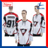 Healong Fashion Design Apparel Sublimation School Match Ice Hockey Jersey