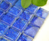 Blue Color Glass Mosaic Wall Tile (TG-LF-011)