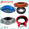 Grooved Reducing Coupling and Reducer Coupling for Pipe Joining