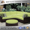 Well Furnir 5 Piece Sectional with Cushion