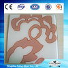 3 to 19mm with Customized Pattern Tempered Silkscreen Glass