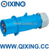 Nylon IEC IP44 220V Industrial Plug and Socket (QX248)