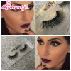 100% Natural Siberian Mink Lashes Extensions Thick False Eyelashes Cosmetics