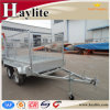8X5 Tandem Axle Box Trailer with Cage