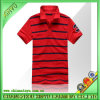 Newly Design Red Pique Stripe Men Polo T Shirts