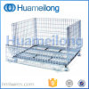 Heavy-Duty Rigid Stackable Wire Mesh Container
