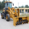 Wheel Loader with Snow Removal Attachments for Canada