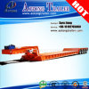 4 Axles 100t Hydraulic Gooseneck Detachable Low Bed Semi Trailer