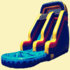 Play Area Inflatable Water Slide for Party