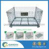 Rigid Metal Wire Basket Pallet Cage for Industrial Warehouse Storage