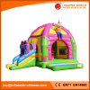 2017 Factory Manufacture Inflatable Clown Jumping Castle with Slide (T3-218)