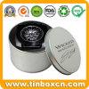 Custom Round Silver Watch Tin Case for Metal Gift Box