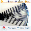 Plastic PP Polypropylene Uniaxial Ux-Oriented Geogrid