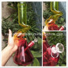 Z Shaped 12 Inch Painting Colorful Glass Water Pipes
