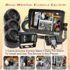 Car Quad Monitor Backup Camera System (DF-7373103)