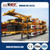 3 Axle 60 Ton Skeleton Chassis Container Semi Trailer