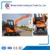 Ce Approved 3 Ton Mini Crawler Excavator