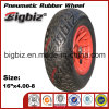 Wheelbarrow Pneumatic Rubber Wheel 400-8 for Hot Wheels