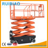 10meter 12meter Battery Powered Scissor Lift Platform Full Electric Lift