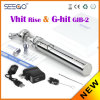 Seego Hot Selling Wax Vaporizer Vhit Rise Cbd Thc Oil Cartridge Atomizer Tank with Rotatable Drip Tip