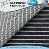 High Quality Factory Price Stripe Twill Cotton Knitting Knitted Denim Fabric for Trousers