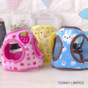 Printing Cute Dog Lead Cartoon Mesh Pet Harness with Leash