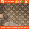 Damask Italian Big Flower Design Wallpaper for Living Room