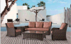 Outdoor Leisure Alu Rattan Sofa