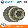 Middle Quality Friction Material Disc Clutch Facing