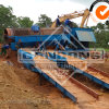 Trommel Gold Panning Machine for Alluvial Sand Washing
