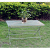 Wrought Iron Coffee Table Foldable