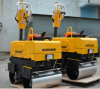 Hydraulic Walk Behind Double Drums Vibratory Road Roller