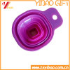 Purple Small Size Silicone Foldable Funnel Custom (Xinyuan Silicone -12)
