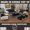 New Modern 1+2+3 with Coffee Table Leather Sofa Set Lz1688