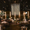 Chandeliers Shape LED Curtain Light for Indoor Use