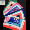 90*90cm Twill Satin Silk Printed Fashion Lady Square Bandana