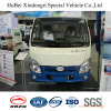 2cbm Naveco Yuejin Euro 6 Electric Barrel Carrying Transport Delivery Garbage Truck