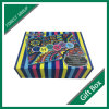 Rigid Color Book Shape Box with Magnetic Closing