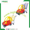 Colourful Child Shopping Carts / Supermarket / Grocery Funny Kids Shopping Trolley