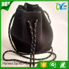 High Quality Designer Perforated Neoprene Drawstring Bucket Bags Women Casual Bag Dropship Fast Delivery
