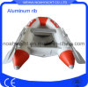 2 People Aluminum Fishing Boat with Inflatable PVC Tube