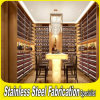 Hot Sale Customized Stainless Steel Hanging Wall Wine Glass Rack