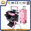 Professional Rolling Makeup Trolley Case with Light (HB-5001)