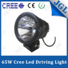 off-Road Front-Positional 65W CREE LED Driving Light Single Beam