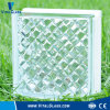 Clear Gemel Pattern Glass Block for Decoration