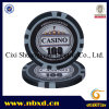 15g Classic 8 Stripe Clay Poker Chip with Custom Sticker (SY-E25)