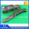 Stainless Steel Fixed Blade Foldable Portable Hunting Knife