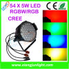 Indoor 54X3w RGBW LED PAR Can Light PAR Can
