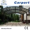 Aluminium Frame Car Parking Carport with Polycarbonate Roof (B800)